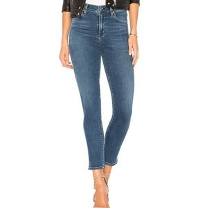 Citizens of Humanity Rocket Crop high-rise jeans Size 27 Blue